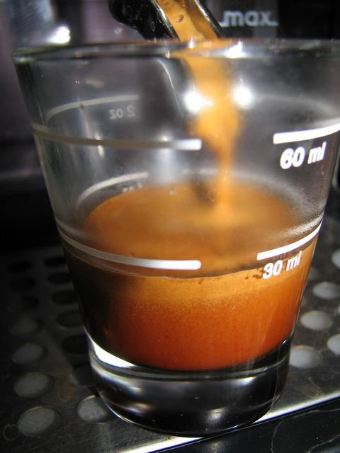 lucaffe mr. exclusive szemeskávé shot