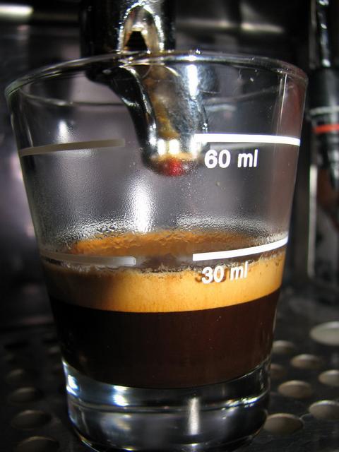 lucaffe piccolo & dolce kávéteszt shot