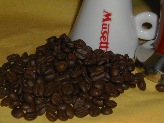 musetti paradiso szemeskávé kávébabok