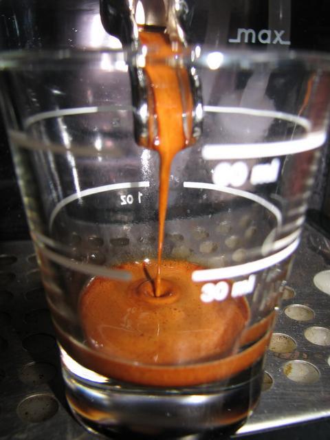 musetti paradiso szemeskávé kávé shot