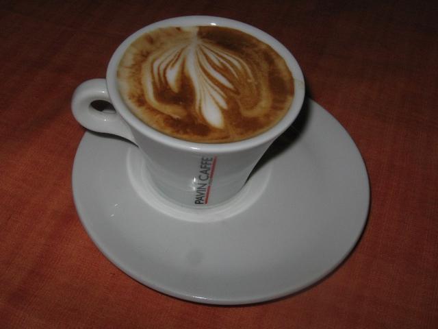 pavin full cream szemes kávé kapucsínó