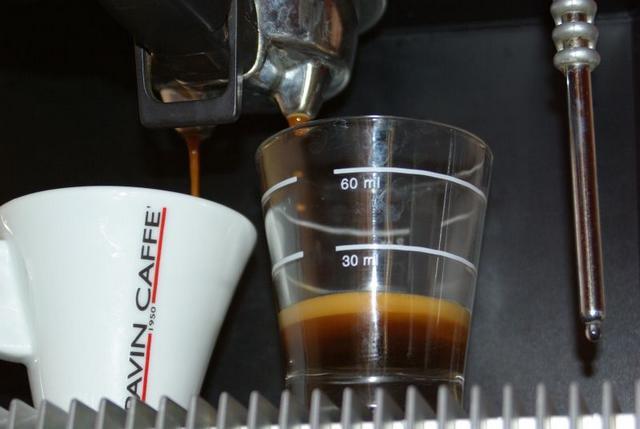 pavin caffé super bar kávéteszt csapolás
