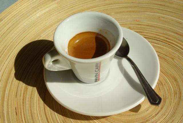pavin caffé super bar kávéteszt eszpresszó