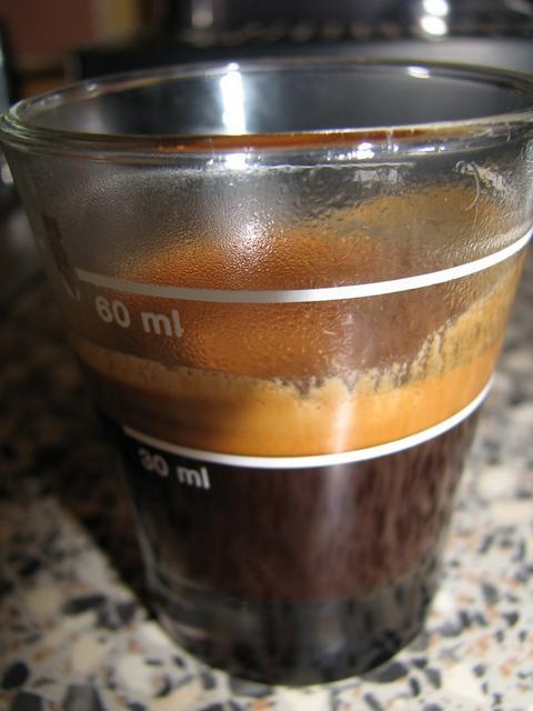 pavin caffé super bar kávéteszt shot