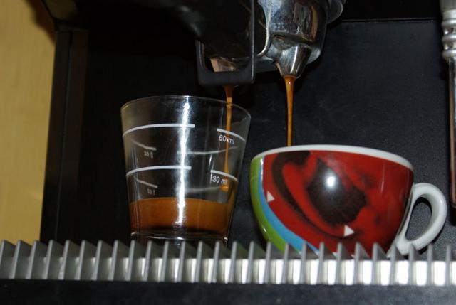 roen gran bar kávéteszt csapolás