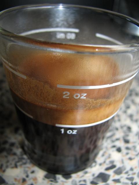 roen gran bar kávéteszt shot