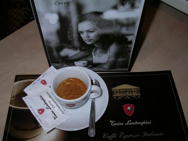 tonino lamborghini eszpresszó kávé