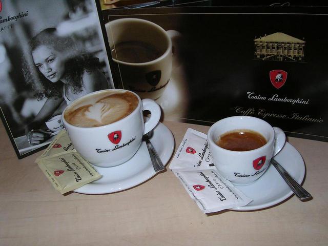 lamborghini espresso és cappuccino
