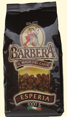 barbera esperia kávé csomagolás