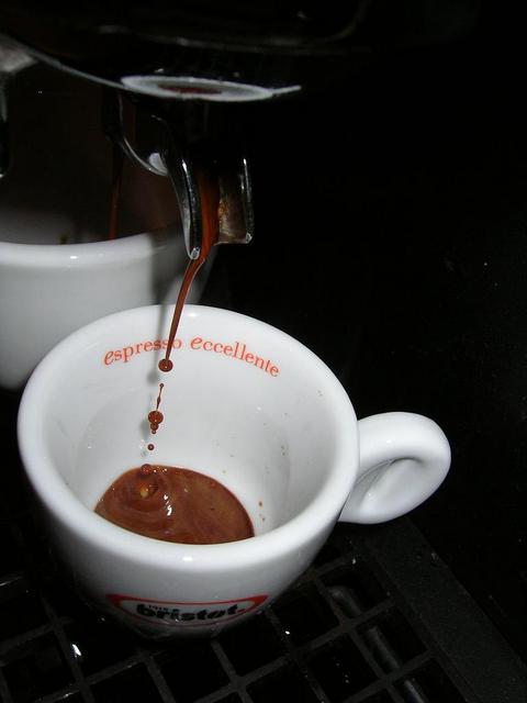 bristot rainforest kávé csapolás faema