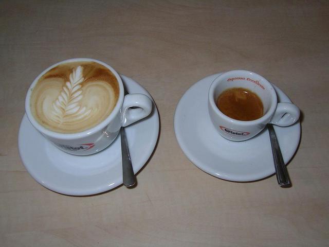 bristot rainforest kávé kapucsínó