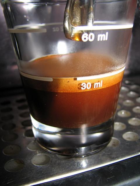 bristot rainforest kávé shot