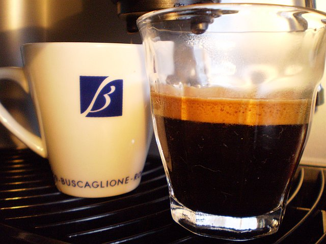 buscaglione soalto kávé csapolás