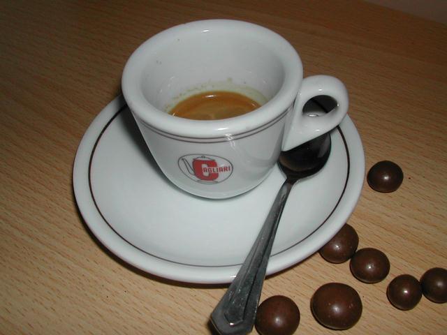 cagliari gran rossa kávé risztrettó