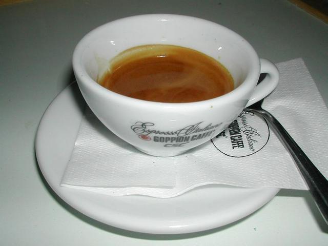 goppion espresso italiano csésze