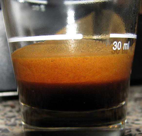 goppion qualita oro kávé shot