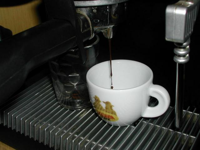 lazzarin espresso light szemeskávé csapolás