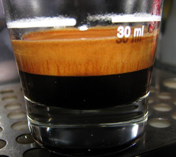 lazzarin espresso light szemeskávé shot
