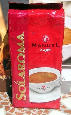 manuel solaroma kávé csomagolás