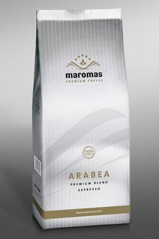 maromas arabea kávé csomagolás