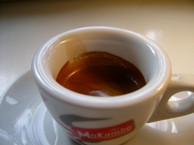 mokambo argento eszpresszó kávé