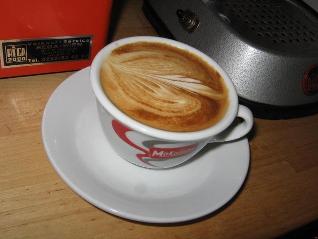 mokambo grande espresso kapucsínó