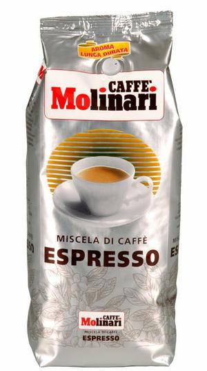 molinari espresso kávé