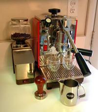Olympia cremina karos kávéfőzőgép
