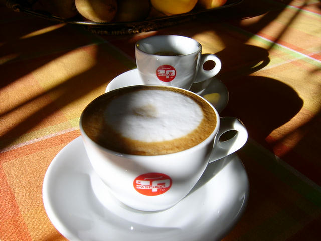 pascucci golden sack kávécsendélet