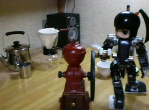 kávékészítő robot