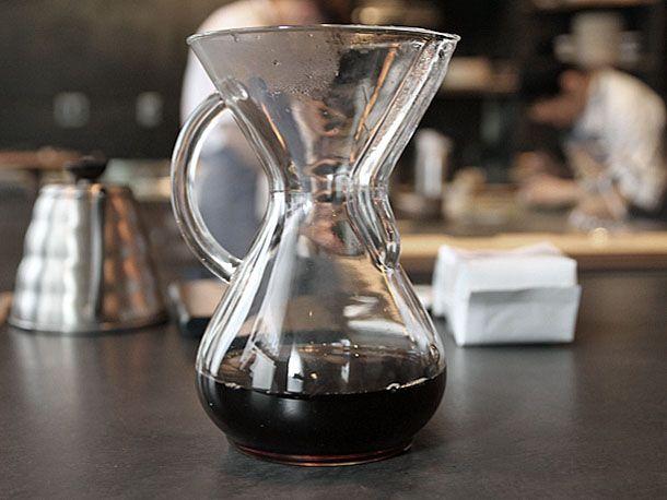 Alternatív kávékészítés Kávéfőzés